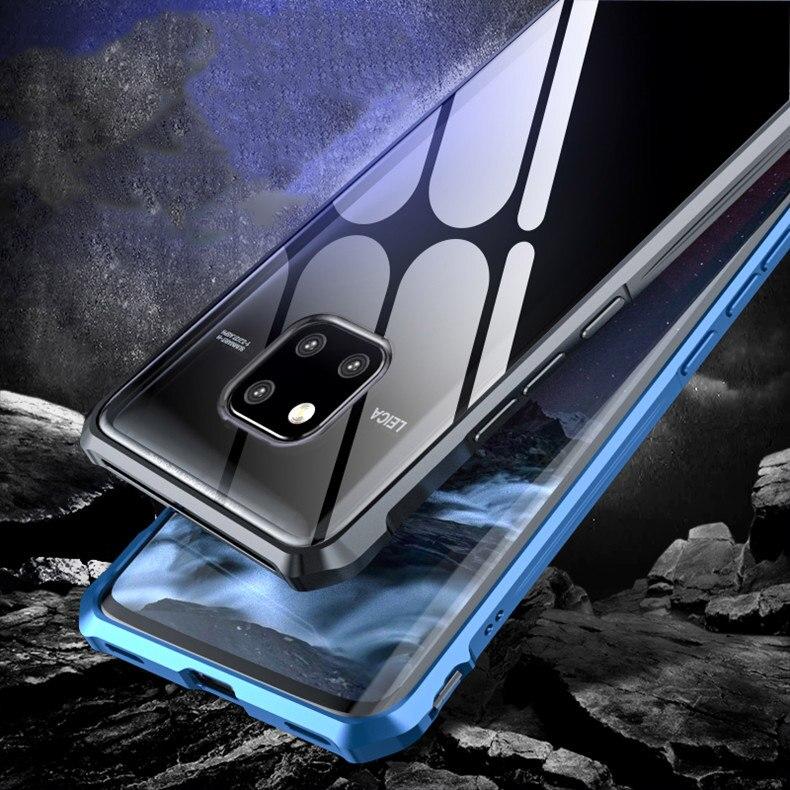 Carcasa de espejo de cristal templado ultrafina de alta gama para Huawei MATE 20 case MATE 20 PRO, MATE 20 X, MATE 20x