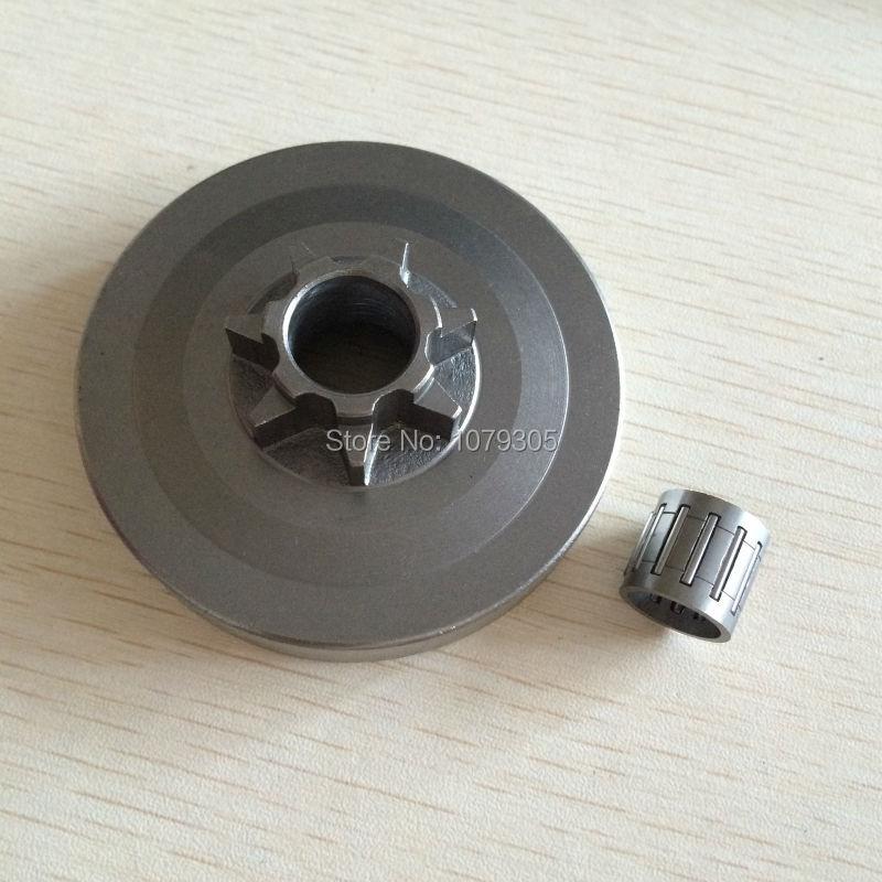 4500 5200 5800 motosserra roda dentada rim cilindro de embreagem um corpo wtih conjunto rolamento agulha