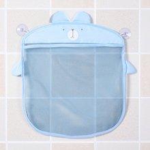 Multi-usages mode coréenne ventouse conception dessin animé maison salle de bains maille sacs étanche bébé enfant jouet stockage Net sac livraison directe