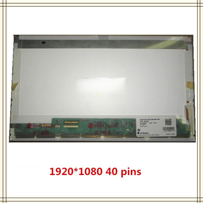 Portátil de 15,6 pulgadas LCD pantalla LED LP156WF1-TLA1 LP156WF1-TLB1 LP156WF1-TLB2 LP156WF1-TLC1 LP156WF1-TLF3 LP156WFC-TLB1