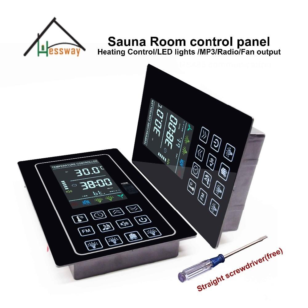 ЖК USB порт 6 кВт цифровой контроллер сауны для частей нагревателя сауны