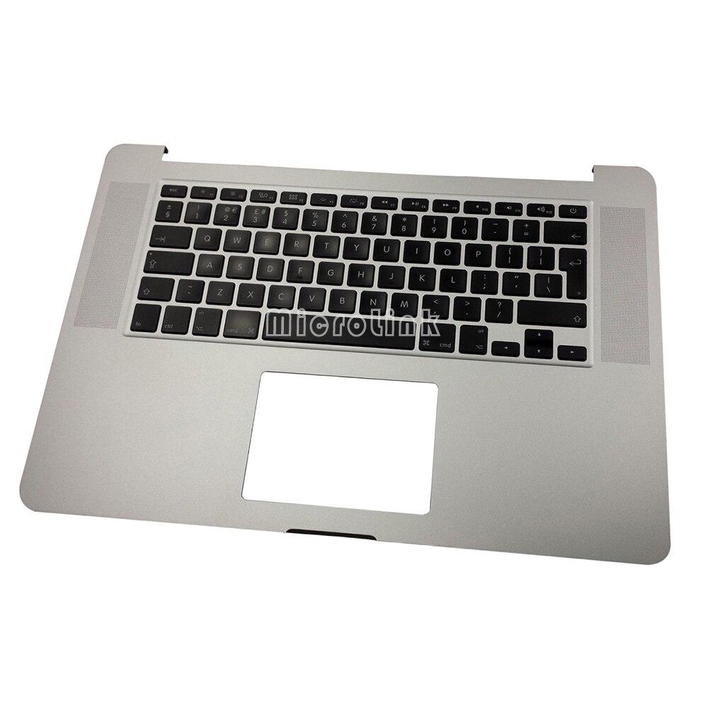 "New Top Case for MacBook Pro Retina 15"" A1398 UK Topcase Upper case 2012 2013 2014"