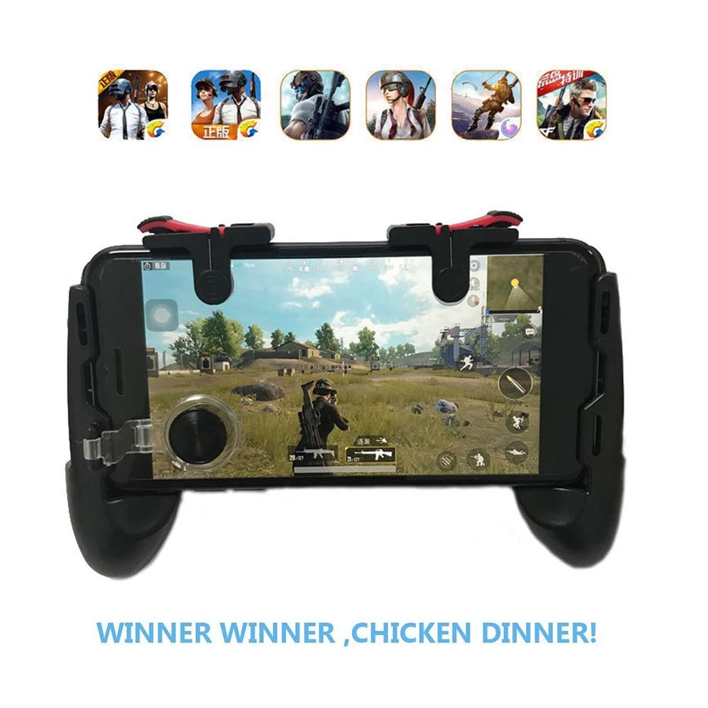 Nieuwe Fire PUBG Mobiele Joystick Controller Gamepad PUGB L1 R1 Mobiele Gaming Trigger Knop L1R1 Shooter Telefoon Game Pad voor iPhone