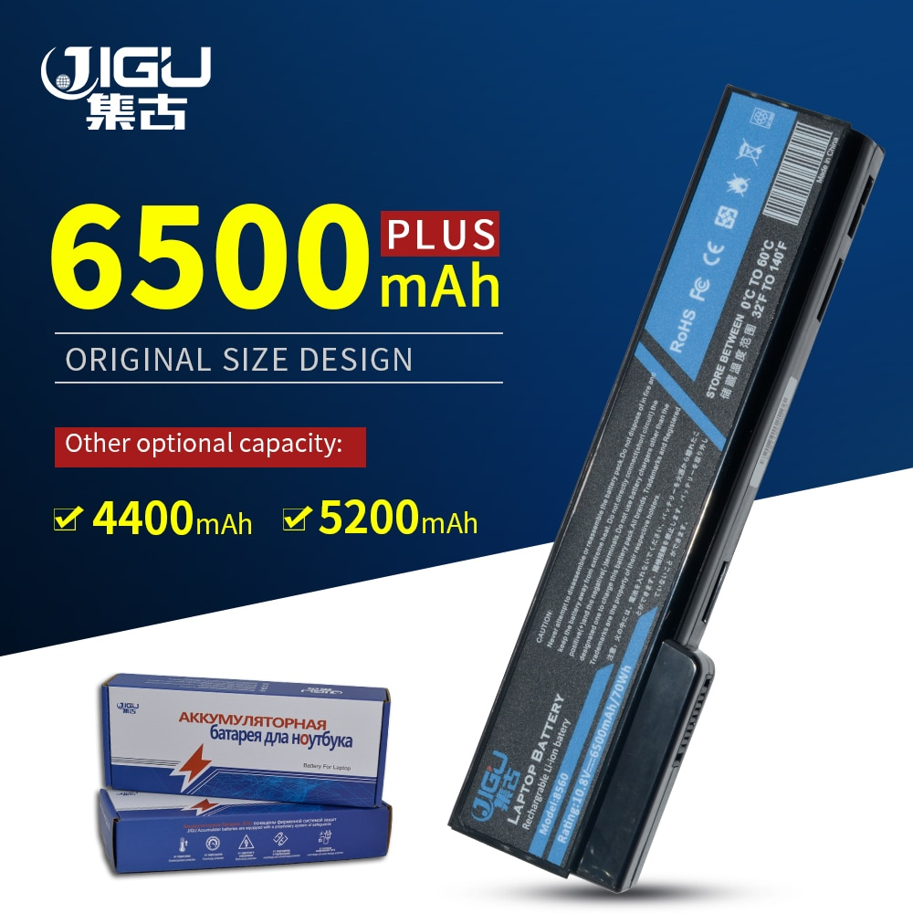 JIGU Laptop Battery For HP For EliteBook 8460p 8460w 8470p 8470w 8560p 8570p ProBook 6460b 6360b 6465b 6470b 6560b 6565b