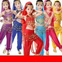 childrens belly dance new style xinjiang dance clothes children belly dance girls show girls performance costumes
