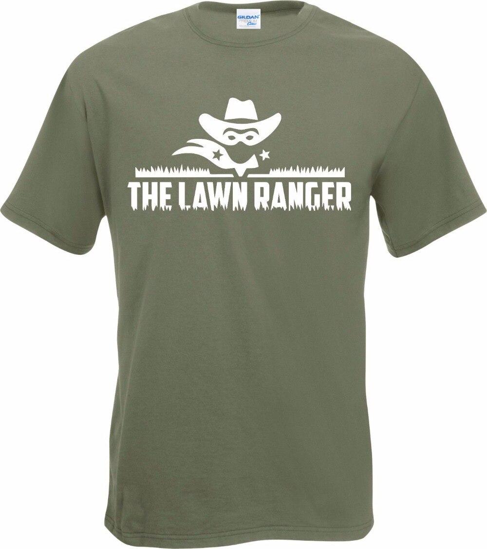 2019 Venta caliente Super moda Casual camiseta Ranger césped divertido lema de jardinería camiseta cortacésped Mow regalo divertido camiseta