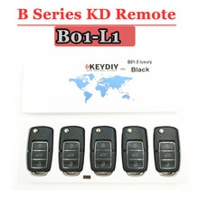 Clé à télécommande B01 3 boutons   (5 pièces/lot) pour keydiy KD900 KD900 + KD200 URG200, Mini KD, télécommande, offre spéciale
