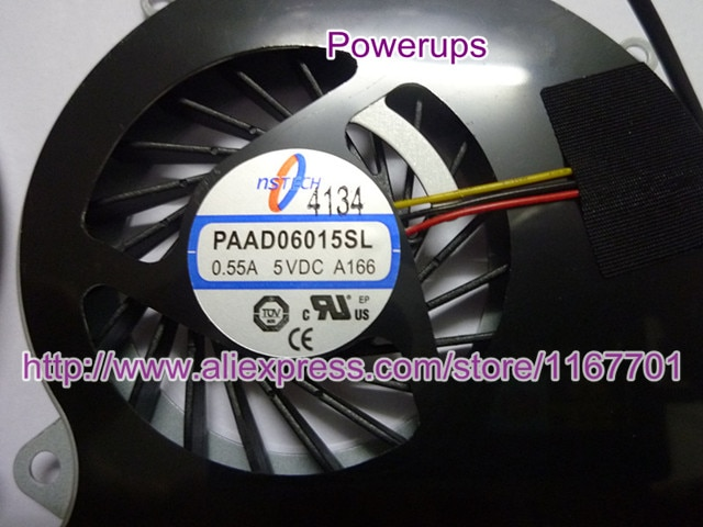 100% Original laptop/notebook CPU Cooling Fan For MSI GE60 2PL 2PF 2PE 16GA 16GC 16GD 16GH 16GF PAAD06015SL A166