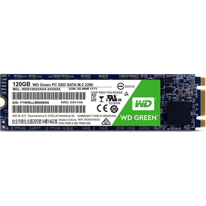 WD Grün M.2 2280 120 GB 240G 480G SSD Interne Solid State Drive Disk SATA3 6 Gb/s 545 MB/S für Laptop Desktop pc