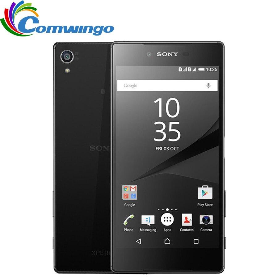 "Original Sony Xperia Z5 Premium E6853 solo Sim desbloqueado GSM 4G LTE Android Octa Core RAM 3GB ROM 32GB 5,5 ""IPS 23MP WIFI GPS"