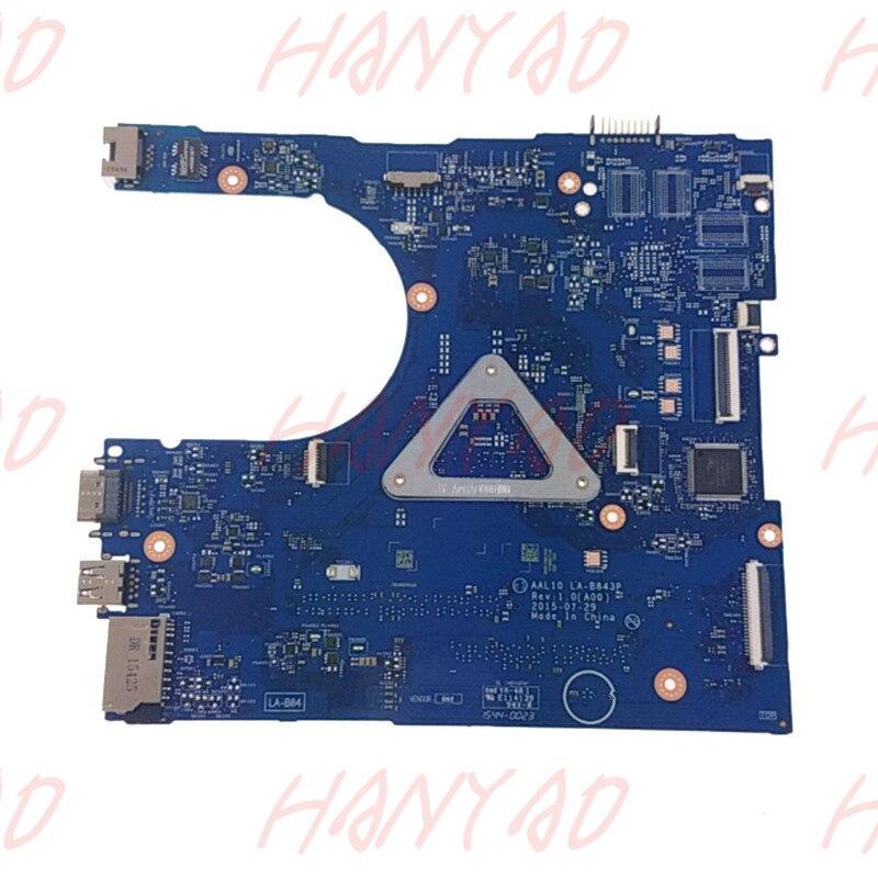 CN-0FRV68 0FRV68 Für Dell 17 5558 5758 laptop motherboard mainboard LA-B843P i5 cpu DDR3 100% getestet