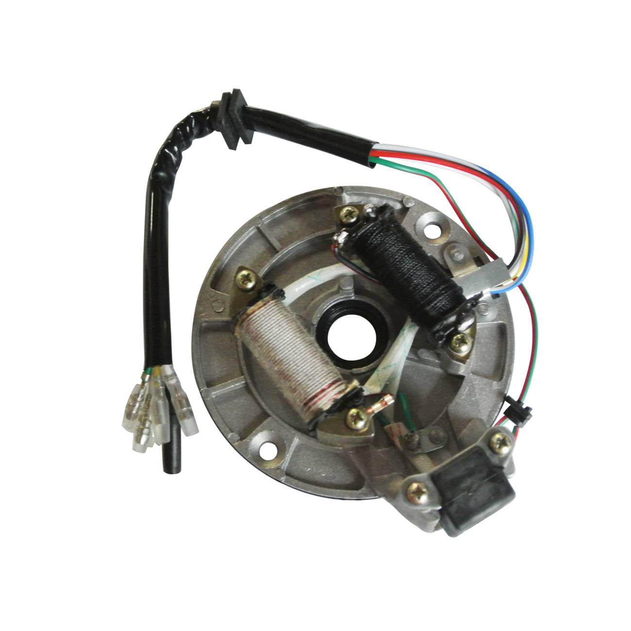 1 Juego de bobina magnética para motor de moto de cross 110cc 125cc
