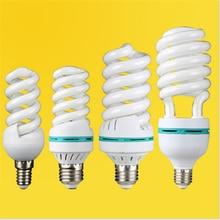 AC170-240V E27 E14 B22 65W 85W 125w haute puissance tube en spirale lampe économiseuse dénergie ampoule fluorescente tube en gros