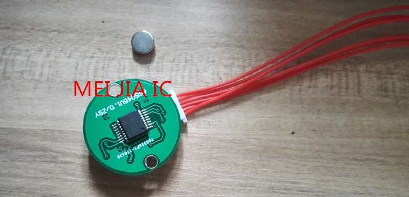Codificador de sensor magnético as5045 sensor de ángulo de alta precisión para enviar las rutinas STM32 y 51 se pueden personalizar