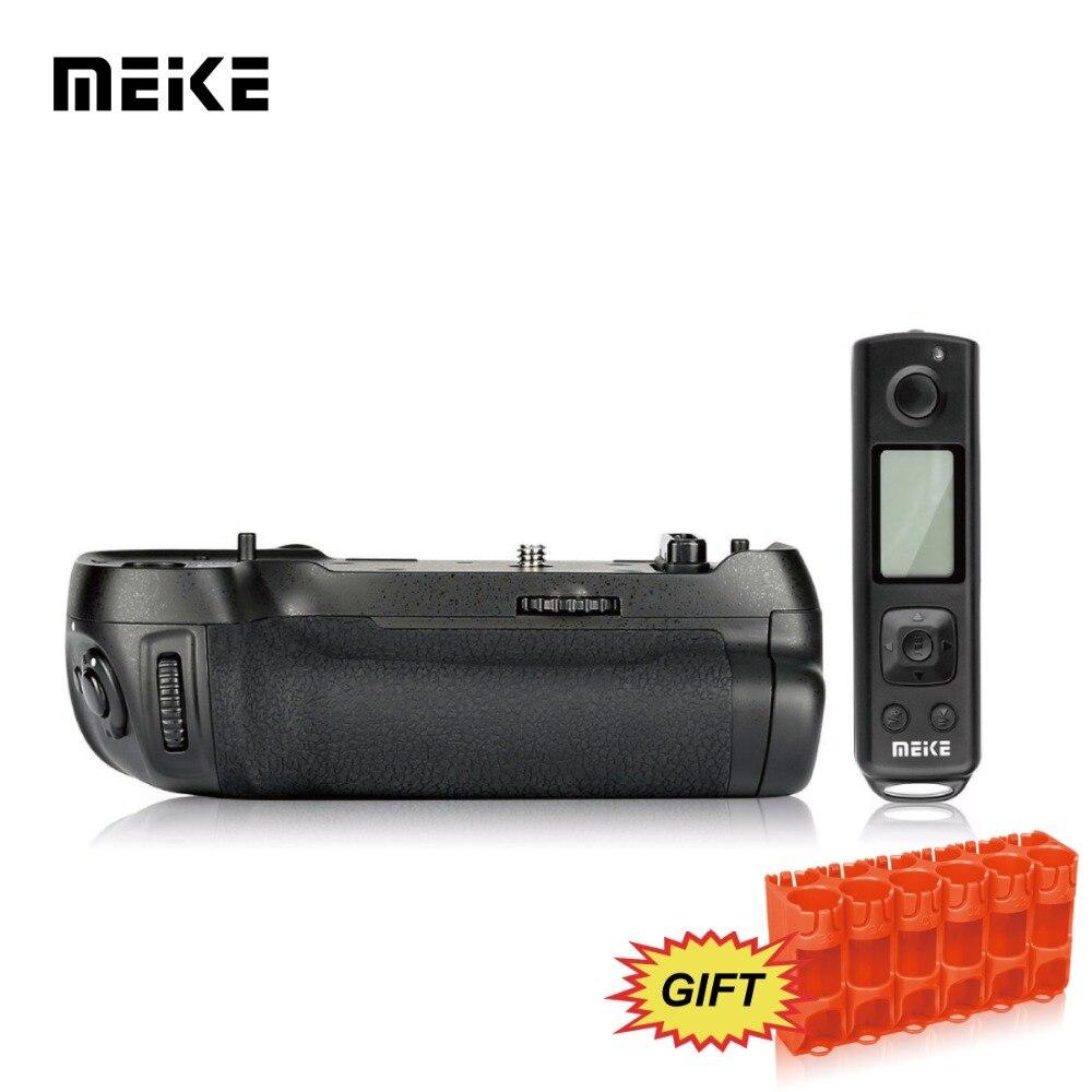 Meike MK-D850 Pro bloc dalimentation de prise de vue verticale poignée de la batterie avec télécommande sans fil 2.4G Hz pour appareil photo Nikon D850