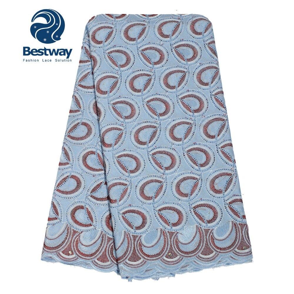Женское кружевное платье Bestway, кружевное платье из швейцарской вуали, вечерние платья из швейцарского хлопка, 2019