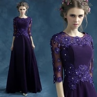 s 2016 new arrival stock maternity plus size bridal gown evening dress long with jacket purple blue lace luxury 263