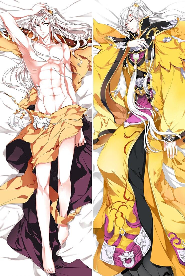 2018-julho anime kamisama hajimemashita personagens legal meninos tomoe dakimakura lance capa de almofada caso abraçando fronha corpo
