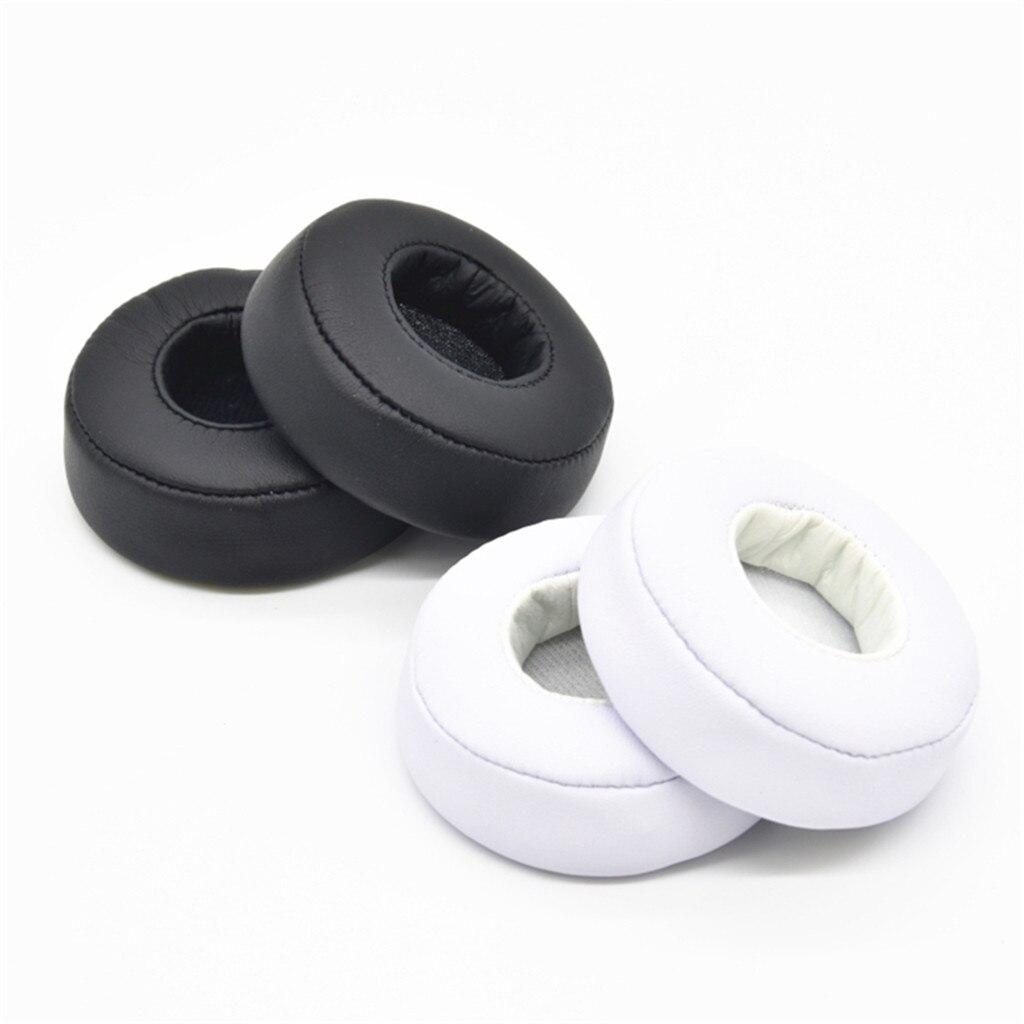 Almohadillas blandas de repuesto para Beats de Dr. Dre Mixr, auriculares negros