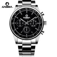 casima brand fashion business watch man luxury waterproof week date calendar casual quartz wristwatch clock relogio masculino