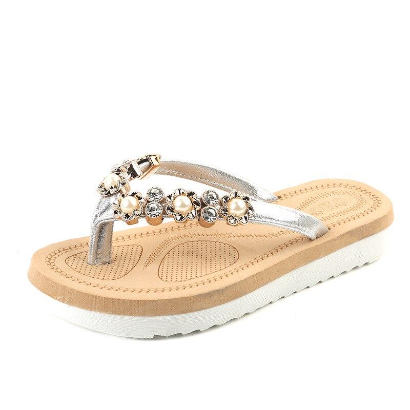 Las mujeres sandalias de verano de 2009 Baitao sandalias nueva sandalias de las mujeres suela plana sandalias dulce viento chanclas