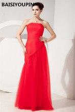 Moeder Bruidegom Lange Jurken Vestido Para Madrinha De Casamento 2020 Goedkope Red Mermaid Avondjurken