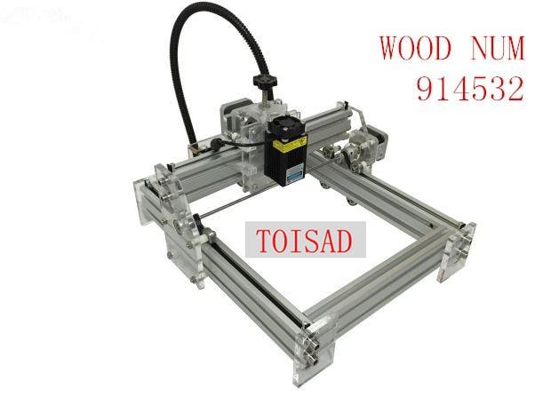 Mini máquina de grabado láser de 2500 mw máquina de tallado 170*200 cara