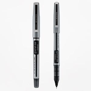 5PCS Japan ZEBRA Straight Liquid Black Gel Pen DX5 High-capacity Roll-on Pen 0.5mm