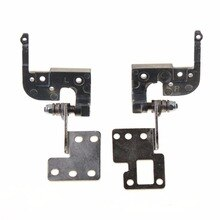 Gauche et droite 1 paire ordinateurs portables remplacements LCD charnières idéal pour ASUS K52 K52F K52N K52J K52D LCD charnières accessoires dordinateur portable
