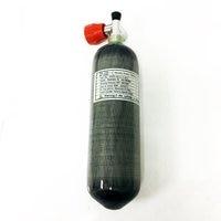 AC121711 Mini 2.17L CE 300Bar 4500PSI High Compressed PCP Carbon Fiber Cylinder SCUBA Diving Bottle With Condor Valve Acecare