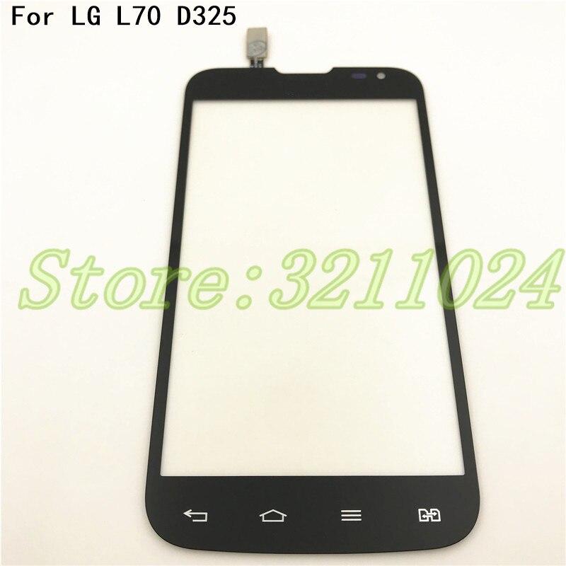 Touchscreen High Quality For LG L70 Dual Sim Card D325 Touch Screen Digitizer Sensor Glass Lens Panel