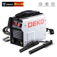 DEKO DKA-200G 200A 4.1KVA IP21S Soldadura Eléctrica Inversa 220V MMA Trabajos de Soldadura y Eléctricos Soldadura Inverter