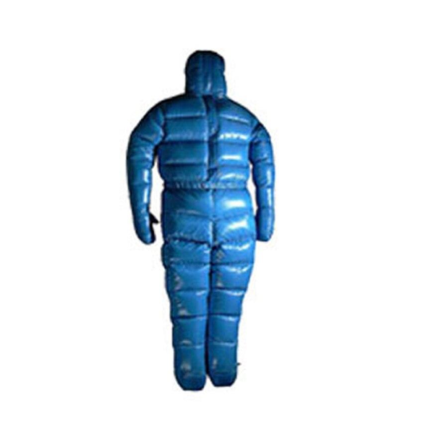 Chaqueta de invierno para hombre 3000g ganso blanco relleno muy cálidas abajo cómodo impermeable abajo traje