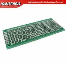 20 pièces 3x7cm 3*7 Double côté Prototype PCB bricolage universel Circuit imprimé épaisseur 1.6 trou plaque panneau expérimental