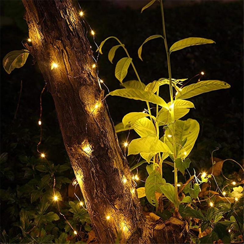 Lumini de zână alimentate cu baterie AA 1m 10 2m 20 3m 30 5m 50 10m - Luminări festive - Fotografie 5