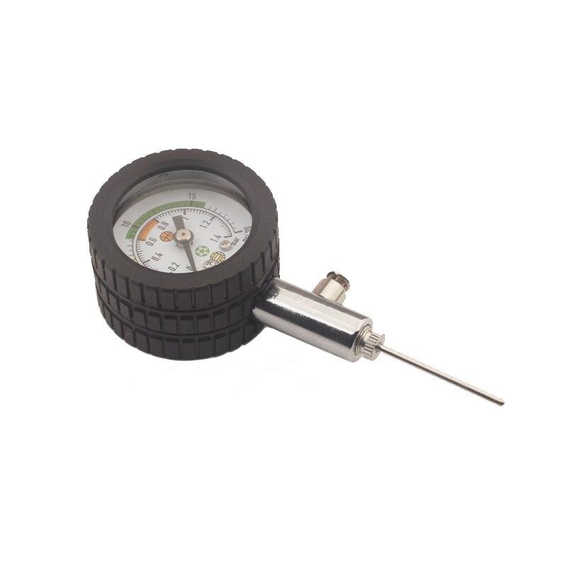Новый футбольный мяч барометр футбольные часы рефери баскетбольные волейбольные мячи манометры спортивные измерительные приборы