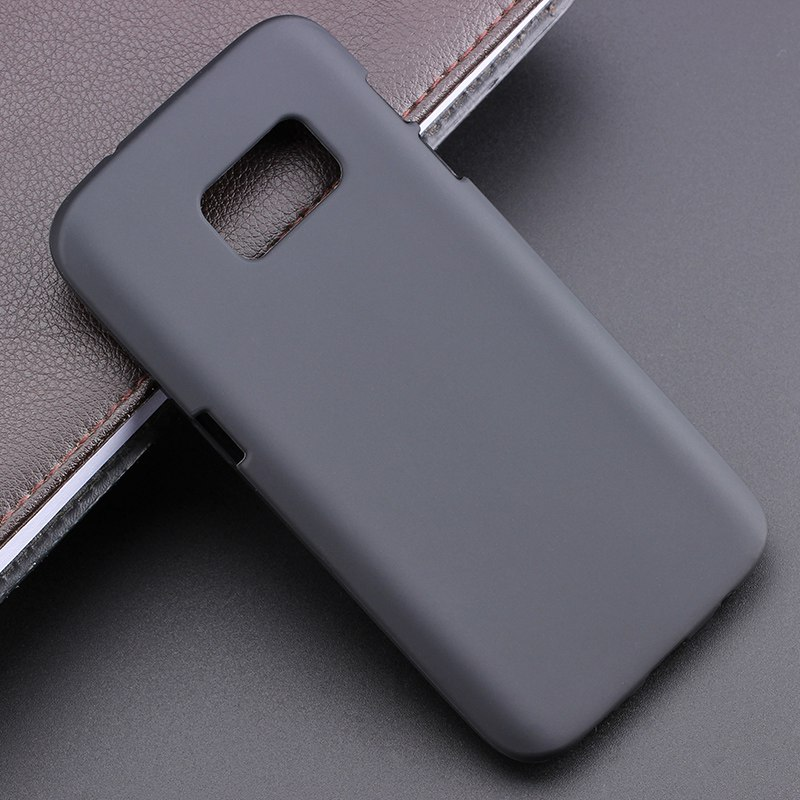 New High Quality Flexible Multy Colors TPU Matte Silicone Gel Skin Case Cover For Samsung Galaxy S7