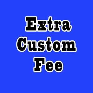 Link of Extra Fee for Custom size, Fast Express Shipping, Customize Products, Style Changes and Other Special requests