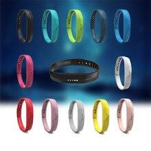 2017 offre spéciale Silicone coloré remplacer Bracelet Bracelet Bracelet pour Fitbit Flex 2 bande intelligente remplacer Bracelet pour Fitbit Flex2