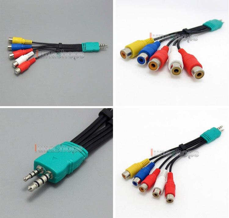 1 pcs Um Cabo Adaptador Scart Componente Composto LN004768 BN39-01154W para Samsung 3D LED HDTV
