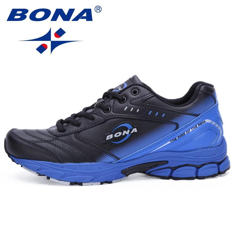 بونا جديد نمط الرجال الاحذية نموذجي الأحذية الرياضية في الهواء الطلق المشي أحذية الرجال أحذية رياضية مريحة النساء الرياضة الاحذية