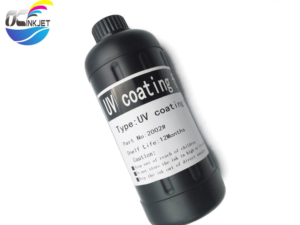 OCINKJET 1000ml UV imprimación para Epson para Roland para Mimaki ambiental, inodoro para cabezal de impresora que utiliza tinta UV transparente