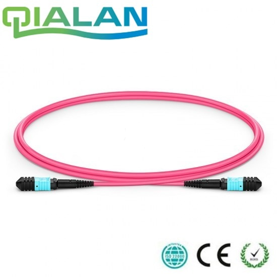 1m MPO Female 12 Fibers Type B LSZH OM4 (OM3) 50/125 Multimode Elite Trunk Cable