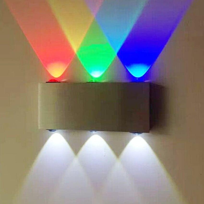 Lámpara de pared LED de 6W para interior, a la moda, AC100V/220V,...