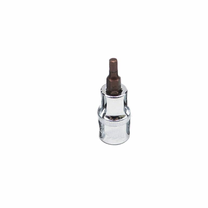 1 PC Bit Socket 48mm 3/8 10mm Drive Hex Allen Key Bit Socket Tools H3mm~10mm Durable In Use Long Service Life