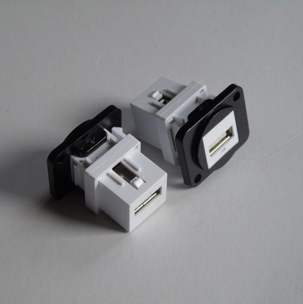 مجموعة من 50 D-USB وحدة USB لوحة تصاعد