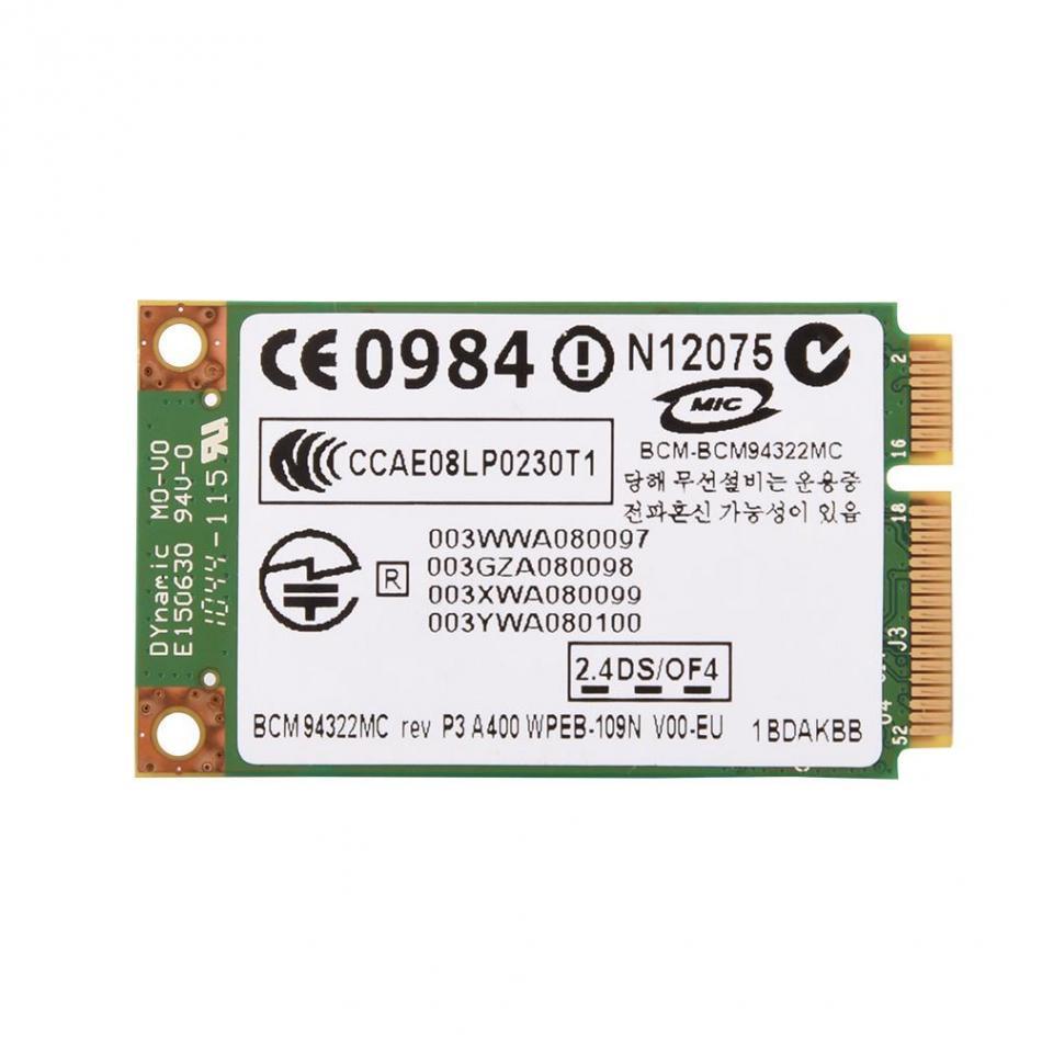 2,4G + 5G Dual-Band Mini PCI-E WIFI Drahtlose Karte 433Mbps Netzwerk Karte für HP/ mac/DELL/Asus/HEDY/TSINGHUA TONGFANG