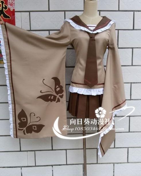 Vocaloid senbon zakura senbonzakura rin kagamine rin cosplay traje