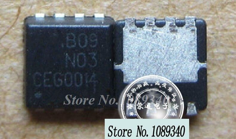 5 unids/lote envío gratis EMB09N03V B09N03V B09N03 QFN abierto portátil de uso de chip 100% nuevo original