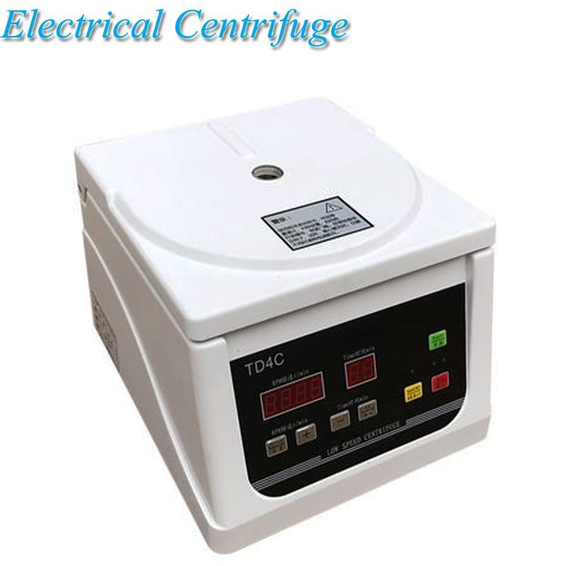 Centrifugadora de mesa de baja velocidad PRP, centrifugadora eléctrica 4000 Revolution, separación de suero, equipo de laboratorio TD4C